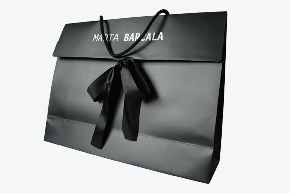Bolsa de lujo para regalo.